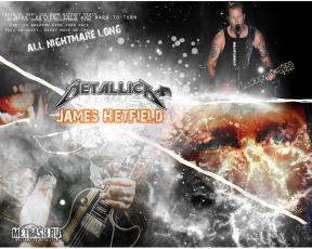 James Hetfield All Nightmare Long 1280x1024