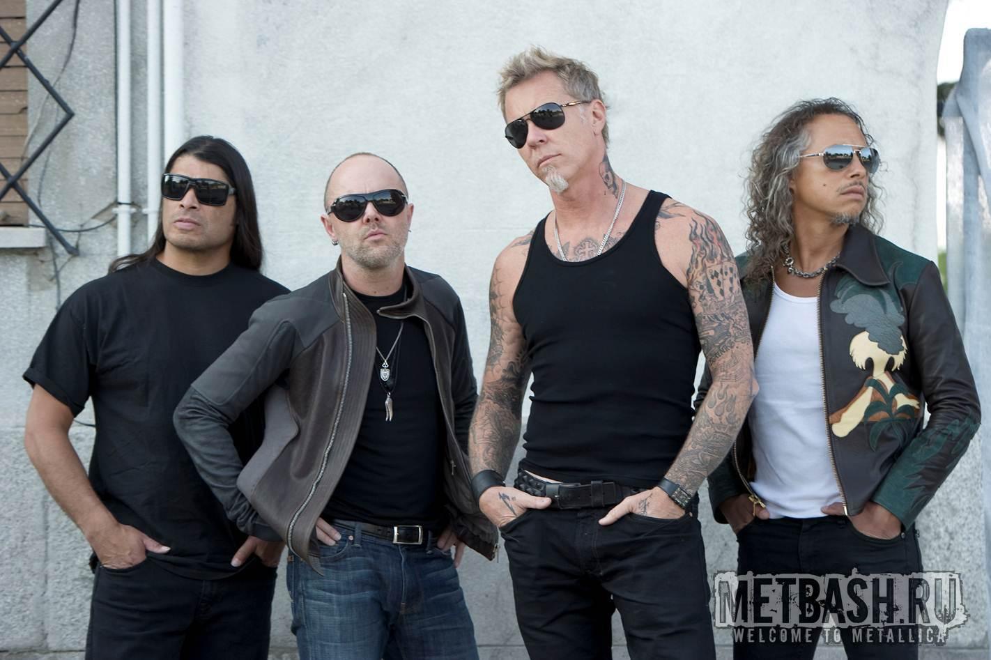 металлика фото группы