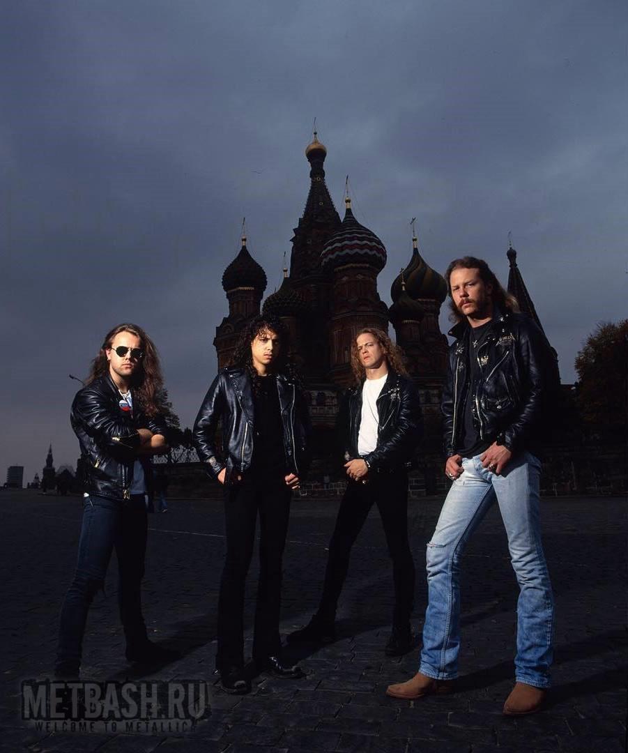 Группа Metallica выступит в Москве 21 июля 2019 года!